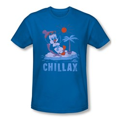 Chilly Willy - Mens Chillax Slim Fit T-Shirt