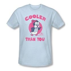 Chilly Willy - Mens Cooler Than You Slim Fit T-Shirt