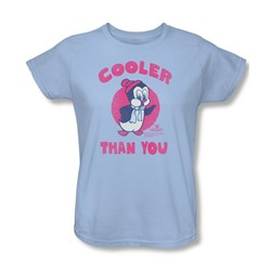 Chilly Willy - Womens Cooler Than You T-Shirt