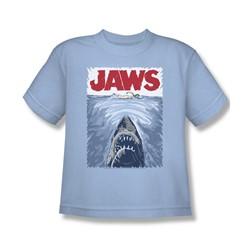 Jaws - Big Boys Graphic Poster T-Shirt