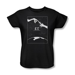 Et - Womens Simple Poster T-Shirt