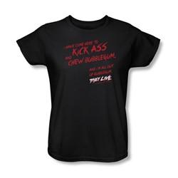 They Live - Womens Chew Bubblegum T-Shirt
