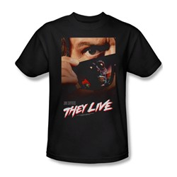 They Live - Mens Poster T-Shirt