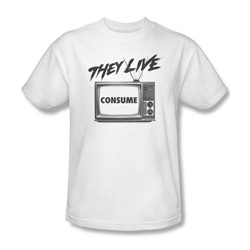 They Live - Mens Consume T-Shirt