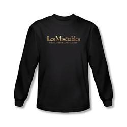 Les Miserables - Mens Logo Longsleeve T-Shirt