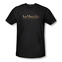 Les Miserables - Mens Logo Slim Fit T-Shirt