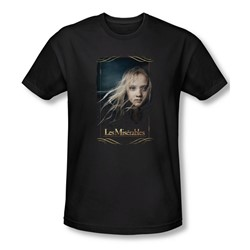 Les Miserables - Mens Cosette Slim Fit T-Shirt