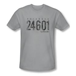 Les Miserables - Mens Prisoner Slim Fit T-Shirt