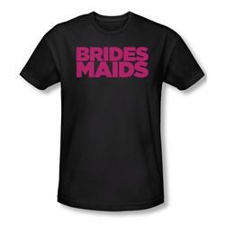 Bridesmaids - Mens Logo Slim Fit T-Shirt