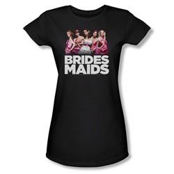 Bridesmaids - Juniors Maids Sheer T-Shirt
