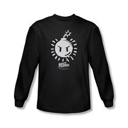 Scott Pilgrim - Mens Sex Bob Omb Logo Longsleeve T-Shirt