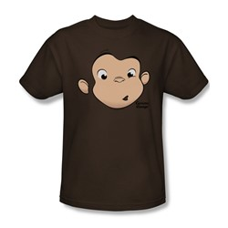 Curious George - Mens George Face T-Shirt