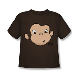 Curious George - Little Boys George Face T-Shirt