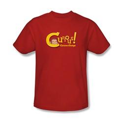 Curious George - Mens Curious T-Shirt