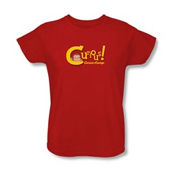 Curious George - Womens Curious T-Shirt