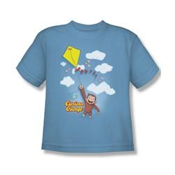 Curious George - Big Boys Flight T-Shirt