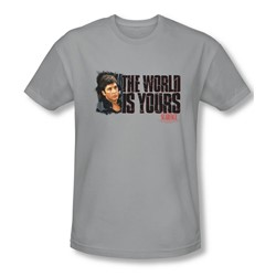 Scarface - Mens The World Is Yours Slim Fit T-Shirt