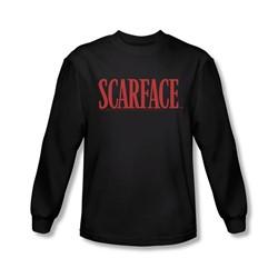 Scarface - Mens Logo Longsleeve T-Shirt