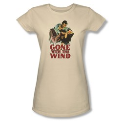 Gone With The Wind - Juniors My Hero Sheer T-Shirt