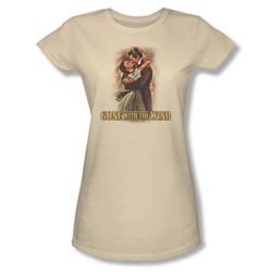 Gone With The Wind - Juniors Embrace Sheer T-Shirt