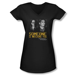 Person Of Interest - Juniors Someone V-Neck T-Shirt