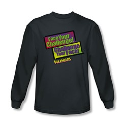 Warheads - Mens Face Your Challenge Longsleeve T-Shirt