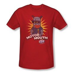 Dubble Bubble - Mens Motor Mouth Slim Fit T-Shirt