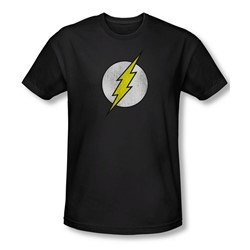 Dco - Mens Flash Logo Distressed Slim Fit T-Shirt