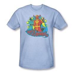 Dc - Mens Red Tornado Stars T-Shirt