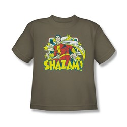 Dc - Big Boys Shazam Stars T-Shirt