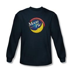 Moon Pie - Mens Current Logo Longsleeve T-Shirt