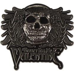 Bullet For My Valentine - Skull Crest Baseball Hat In Grey/Black