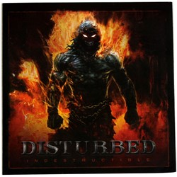 Disturbed - Indestructible Cover Sticker In Black