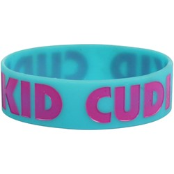 Kid Cudi -  Rubber Bracelet Accessorie In Turquoise