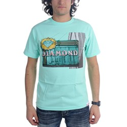 Diamond Supply Co. - Mens Neon T-Shirt
