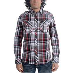Affliction - Mens Skyfall Blues Long Sleeve Woven