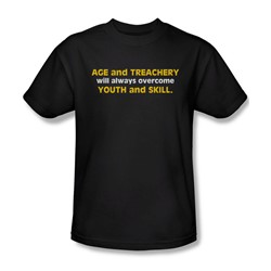 Age And Treachery - Mens T-Shirt In Black