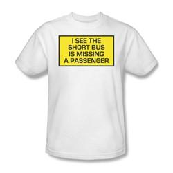 Funny Tees - Mens Short Bus T-Shirt