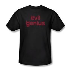 Evil Genius - Mens T-Shirt In Black