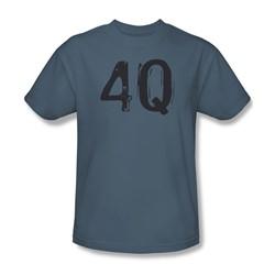 4Q - Mens T-Shirt In Slate