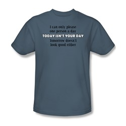 Today Isn'T Your Day - Mens T-Shirt In Slate