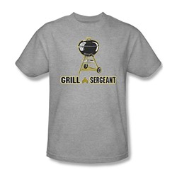 Grill Sergeant - Mens T-Shirt In Heather