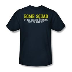 Bomb Squad - Mens T-Shirt In Navy