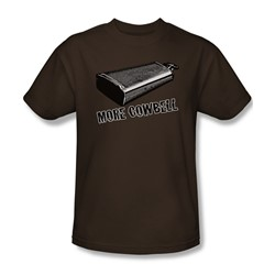 More Cowbell - Mens T-Shirt In Coffee