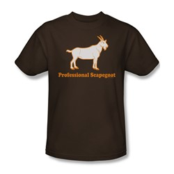 Professional Scapegoat - Mens T-Shirt In Coffee