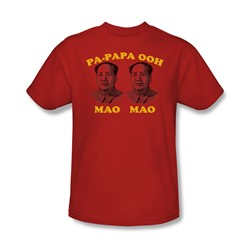 Oom Mao Mao - Mens T-Shirt In Red