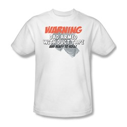 Duct Tape Dad - Mens T-Shirt In White