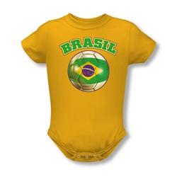 Brazil - Onesie In Gold