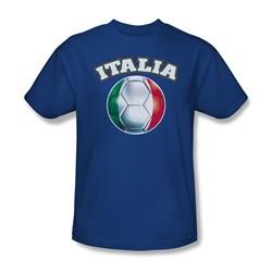 Funny Tees - Mens Italia T-Shirt