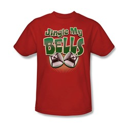 Jingle My Bells - Mens T-Shirt In Red
